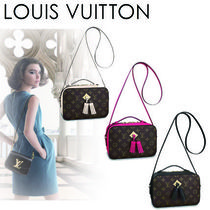 Louis Vuitton MONOGRAM Monogram Casual Style Canvas Tassel 2WAY Shoulder Bags