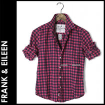 Frank&Eileen Gingham Other Check Patterns Casual Style Long Sleeves