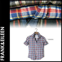 Frank&Eileen Tartan Other Check Patterns Casual Style Long Sleeves Cotton