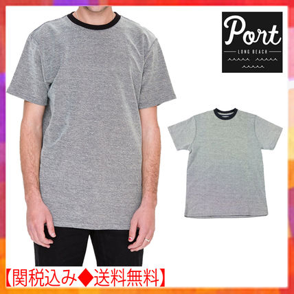 Crew Neck Plain Short Sleeves Crew Neck T-Shirts