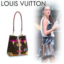 Louis Vuitton NEONOE Monogram Casual Style Canvas 2WAY Shoulder Bags