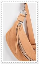 Rebecca Minkoff Casual Style Unisex Plain Leather Shoulder Bags
