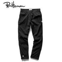 Ron Herman Unisex Nylon Plain Handmade Cropped Pants