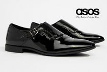 ASOS Monk Faux Fur Loafers & Slip-ons