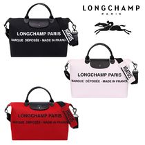 Longchamp Casual Style Unisex Cambus Collaboration A4 2WAY