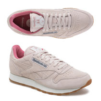 Reebok CLASSIC LEATHER Unisex Collaboration Leather Sneakers