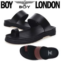 BOY LONDON Faux Fur Street Style Other Animal Patterns Sport Sandals