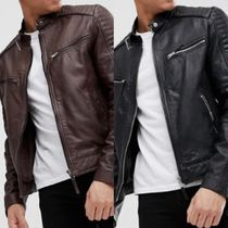 ASOS Short Leather Biker Jackets