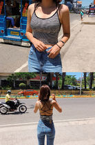 Short Casual Style Street Style Plain Tanks & Camisoles