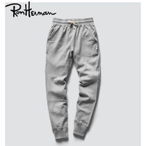 Ron Herman Casual Style Unisex Plain Cotton Long Handmade Skinny Pants