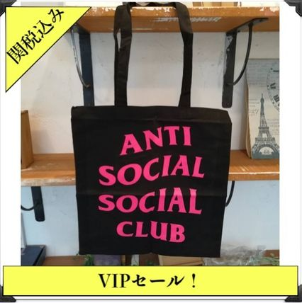 Casual Style Cambus Street Style Plain Totes