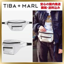TIBA+MARL Casual Style Unisex Plain Leather Shoulder Bags