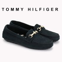Tommy Hilfiger Open Toe Moccasin Casual Style Plain Espadrille Shoes