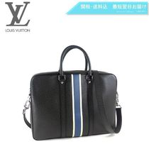 Louis Vuitton TAIGA A4 2WAY Leather Business & Briefcases