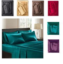 Plain Pillowcases Fitted Sheets Flat Sheets Duvet Covers