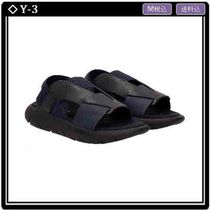 Y-3 Open Toe Rubber Sole Casual Style Sport Sandals Flat Sandals