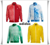 adidas Unisex Street Style Tie-dye Collaboration Track Jackets
