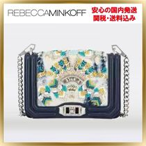 Rebecca Minkoff 2WAY Chain Leather With Jewels Elegant Style Shoulder Bags