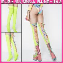 DOLLS KILL Plain Socks & Tights