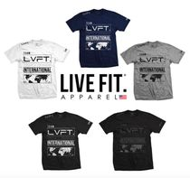 Live Fit Crew Neck Cotton Short Sleeves Crew Neck T-Shirts
