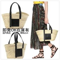 LOEWE Casual Style Unisex Straw Bags