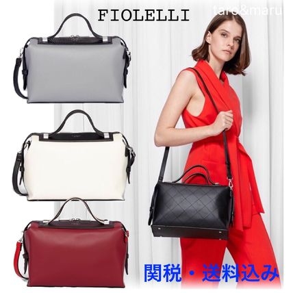 Casual Style 2WAY Plain Handbags
