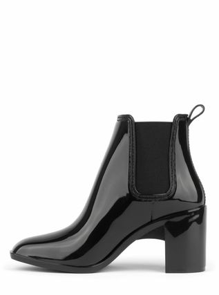Jeffrey Campbell Rubber Sole Plain Flat Boots