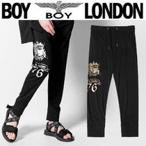 BOY LONDON Unisex Street Style Other Animal Patterns Cotton Pants