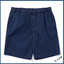 Outer known Plain Cotton Cargo Shorts