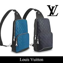 Louis Vuitton Other Check Patterns Leather Messenger & Shoulder Bags