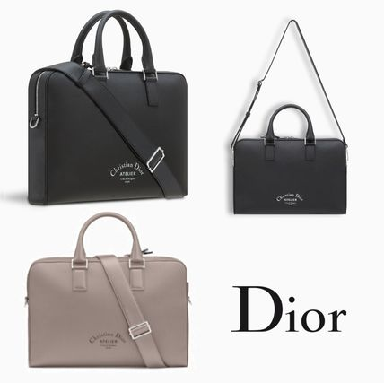 DIOR HOMME Men s Grey Business   Briefcases  Shop Online in US   BUYMA 57693be69dd8