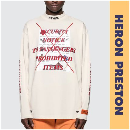 Street Style Long Sleeves Cotton Long Sleeve T-Shirts