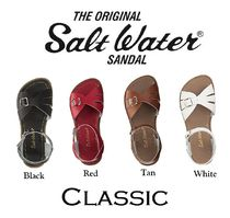 SALT WATER SANDALS SALTWATERCLASSIC Open Toe Plain Leather Sandals Sandal