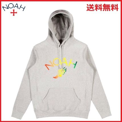 Unisex Street Style Long Sleeves Hoodies