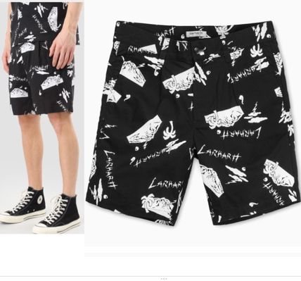 Printed Pants Flower Patterns Tropical Patterns Street Style