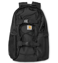 Carhartt Unisex Nylon Street Style A4 Plain Backpacks