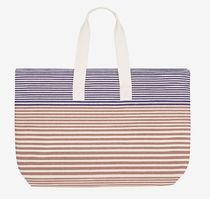 HERMES Stripes Unisex Canvas Street Style Bags