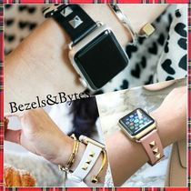 BEZELS & BYTES Studded Leather Watches
