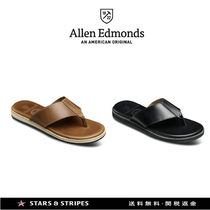 Allen Edmonds Street Style Plain Leather Handmade Sport Sandals