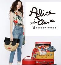 Alice+Olivia Casual Style Straw Bags