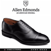 Allen Edmonds Straight Tip Street Style Plain Leather Handmade