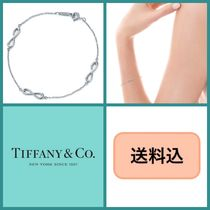 Tiffany & Co TIFFANY INFINITY Bangles Silver Office Style Bracelets
