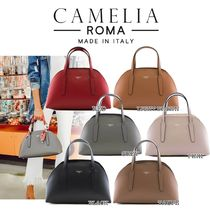 CAMELIA ROMA 2WAY Leather Boston & Duffles