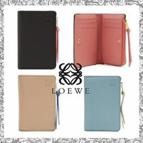 LOEWE Bi-color Leather Coin Purses