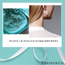 Tiffany & Co OPEN HEART Silver Elegant Style Fine