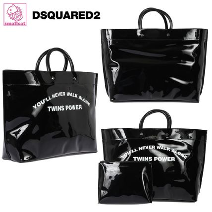 Casual Style A4 PVC Clothing Totes