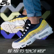 Nike AIR MAX 95 Faux Fur Street Style Oversized Sneakers