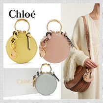 Chloe Plain Leather Coin Purses