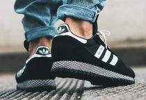 adidas Street Style Plain Leather Sneakers