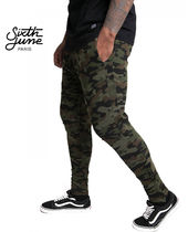 Sixth June Camouflage Sweat Street Style Skinny Fit Pants